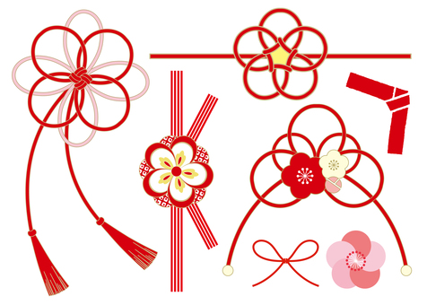 Japanese style ribbon cord 2