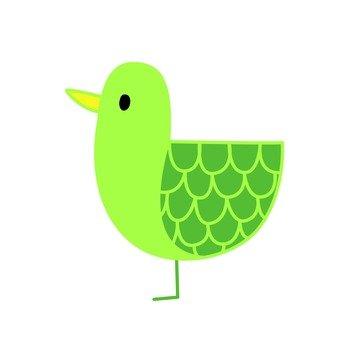 Green bird 4