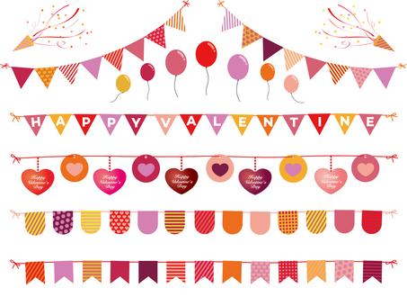 Valentine's Garland