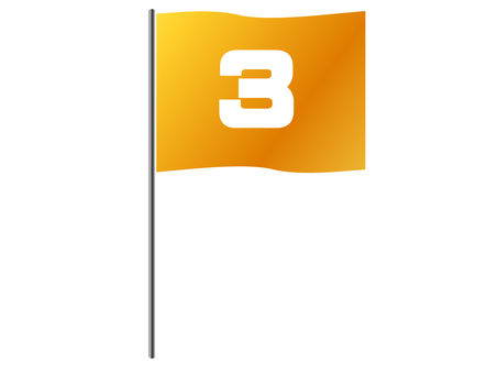 3rd place flag