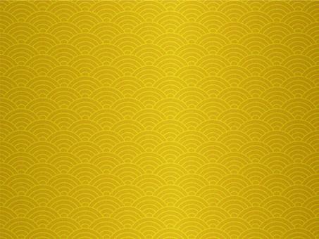 Gold foil Qinghai wave