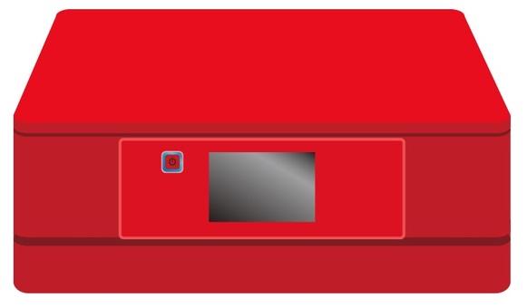 Red Printer