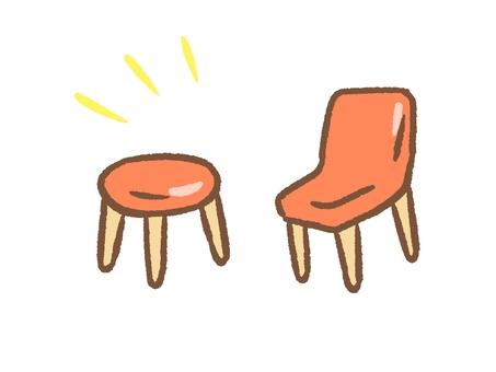 Simple chair set