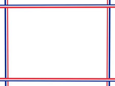 Tricolor frame