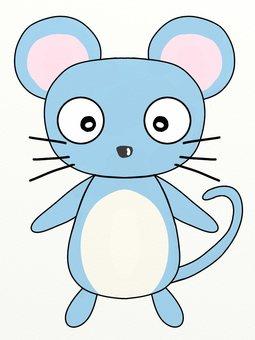 애교있는 귀여운 쥐