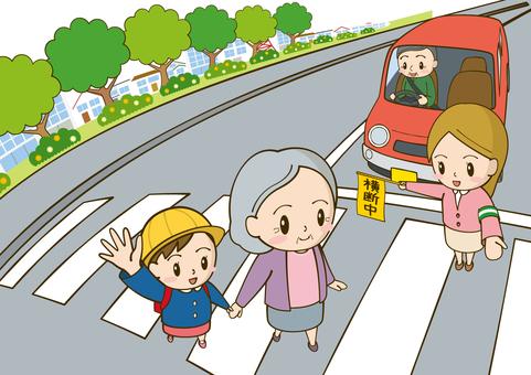 Traffic Safety Crosswalk 2