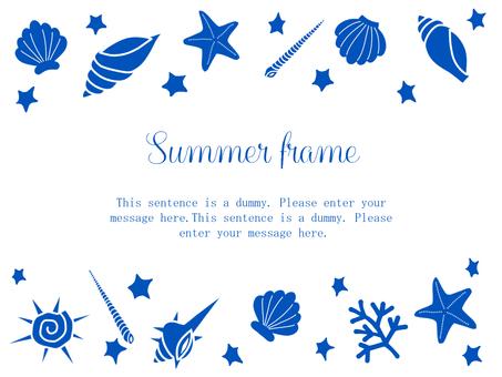 Shell Frame 02 / Blue