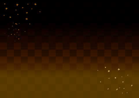 Checkered background _ gold