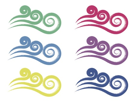 Swirl wave set