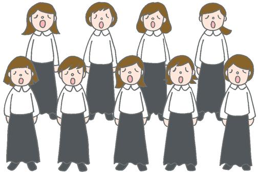 Female voice choir