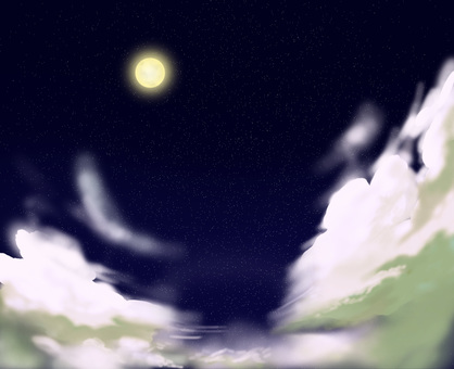 밤 별빛 이미지 벽지