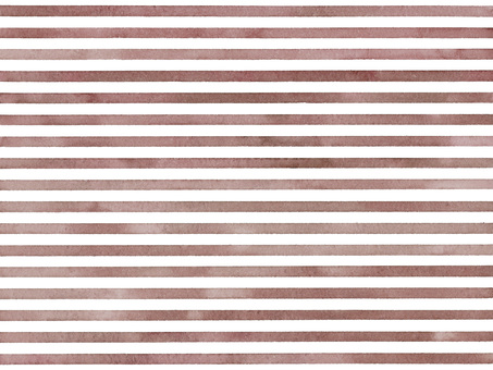 Watercolor hand-painted stripes striped pattern background wallpaper brown
