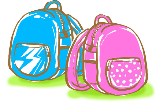 Backpack for elementary school students