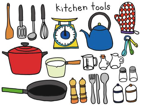 キッチンツールカラー