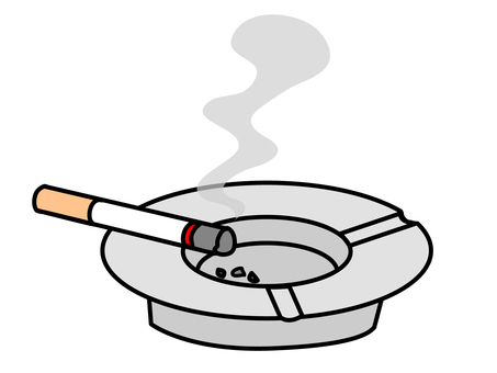 Ashtrays and tobacco