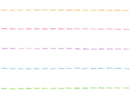 Watercolor line 3