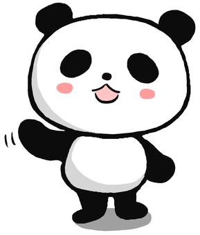 指すパンダ2