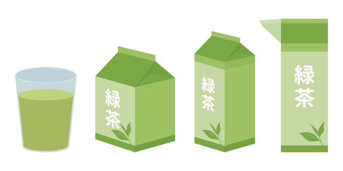 緑茶の紙パックセット