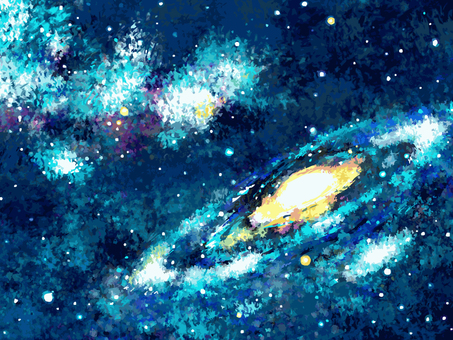 Background material 002 galaxy