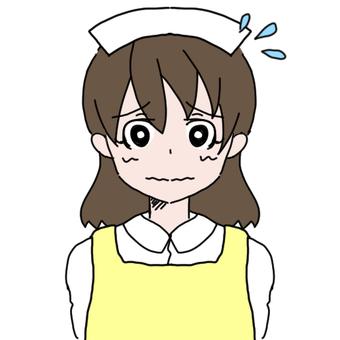 Apron nurse woman (sweat)