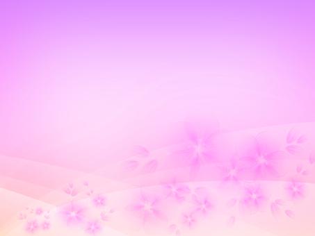 Background Pink flower 02