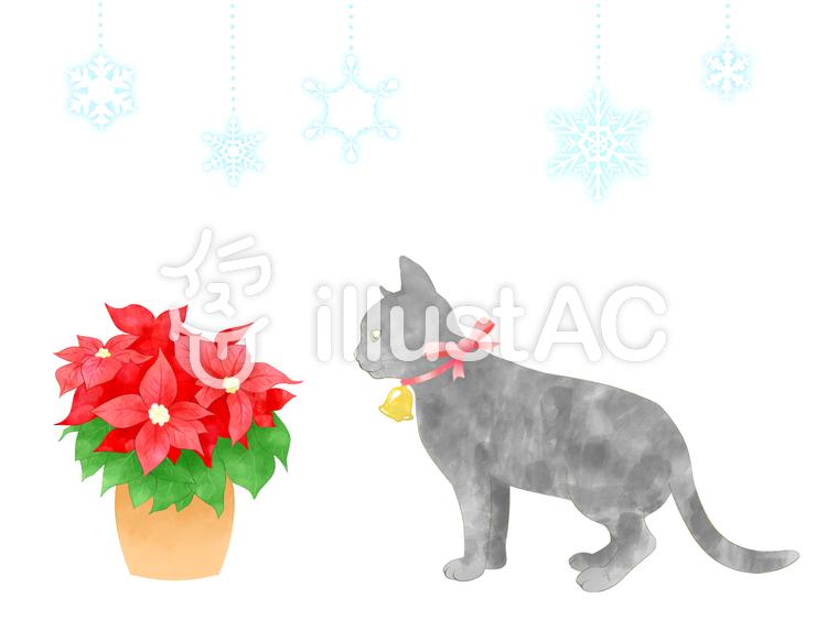 猫 クリスマスイラスト No 594123無料イラストならイラストac