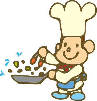 Cooking cook