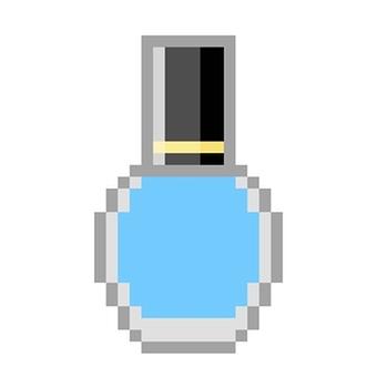 Manicure Blue