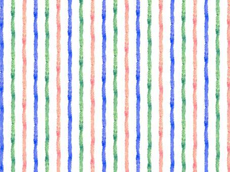 3 color vertical stripes