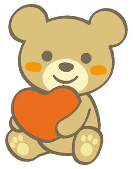 Little Bear 01 - Heart A