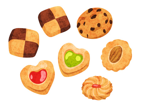 Cookery _ Confectionery _ Cookie _ Watercolor