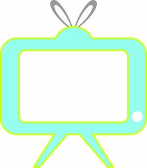 TV ☆ light blue