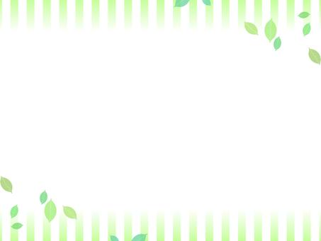 Framed green
