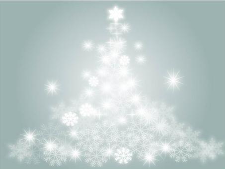 クリスマスツリー(グレー)