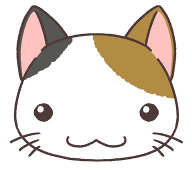 Mikane cat face