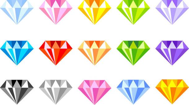다이아몬드 색상