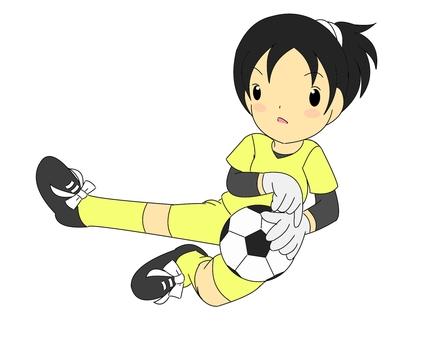 Goalkeeper girls