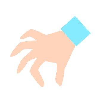 Hand - pinch (downward)