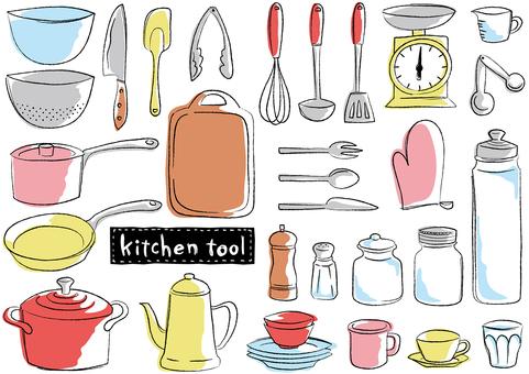 Sketch_Kitchen工具Pencil_color