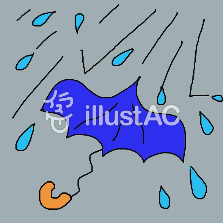 大雨3イラスト No 84829無料イラストならイラストac