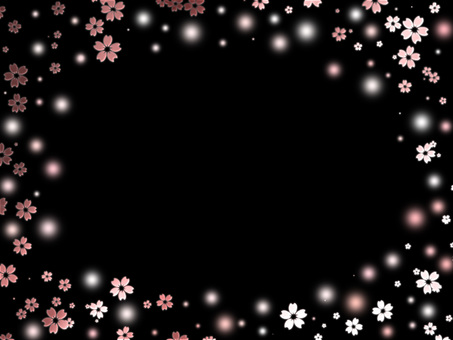 桜背景ver24