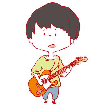 기타리스트 소년