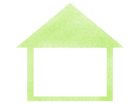 집 프레임 (녹색)