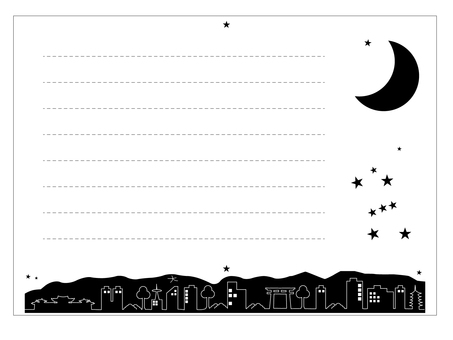 Stationery (Kyoto night view style) 5