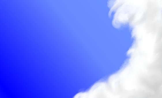 91mm × 55mm blue sky business card