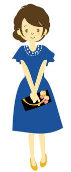 드레스 2 (정면)