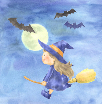 Bats and flying witches