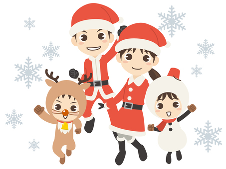 B581_Christmas family 1