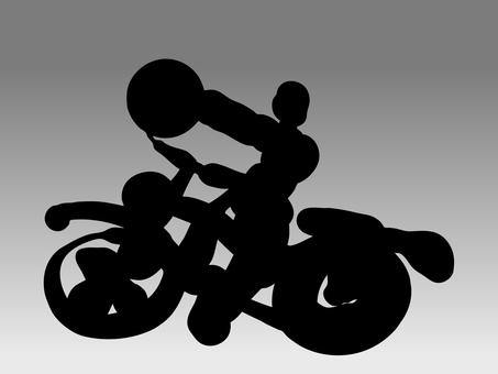 A strange bike man