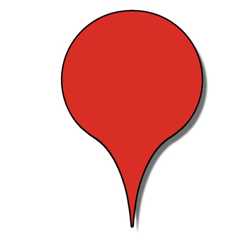 Map pin [red]